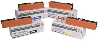 JK TONERS 204A Color Toner Cartridge Compatible with 204 A - CF 510A / CF 511A / CF 512A / CF 513 M154