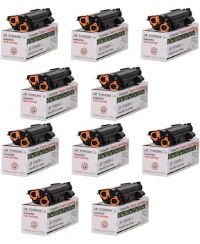 JK Toners 80A / CF280A Toner Cartridge Compatible with HP Pro 400 / M401 / M401d / M401dn / M401dw / M401n / M425dn / M425dw (Pack of 10)