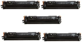 JK Toners 80A / CF280A Toner Cartridge Compatible with HP Pro 400 / M401 / M401d / M401dn / M401dw / M401n / M425dn / M425dw (Pack of 5)