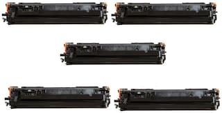 JK Toners 80A / CF280A Toner Cartridge Compatible with HP Pro 400 / M401 / M401d / M401dn / M401dw / M401n / M425dn / M425dw (Pack of 5)