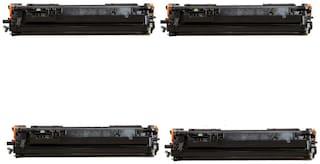 JK Toners 80A / CF280A Toner Cartridge Compatible with HP Pro 400 / M401 / M401d / M401dn / M401dw / M401n / M425dn / M425dw (Pack of 4)