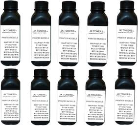 JK Toners  88A Black Toner Compatible for HP LaserJet - P1007, P1008, P1106, P1108, M202, M202n, M202dw, M126nw Single Color Ink Toner  (Black) (Pack of 10)