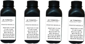 JK Toners  88A Black Toner Compatible for HP LaserJet - P1007, P1008, P1106, P1108, M202, M202n, M202dw, M126nw Single Color Ink Toner  (Black) (Pack of 4)