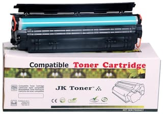 JK Toners 88A Black Toner Cartridge Compatible for HP LaserJet - Single Color Ink Toner  (Black) (Pack of 1)
