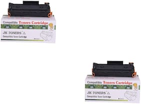 JK TONERS CF233A / 233a / 233 Toner Cartridge Compatible with hp LaserJet Ultra MFP M134fn, 134a, 106a Single Color Toner (unit 2).