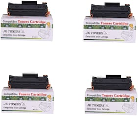 JK TONERS CF233A / 233a / 233 Toner Cartridge Compatible with hp LaserJet Ultra MFP M134fn, 134a, 106a Single Color Toner (unit 4).