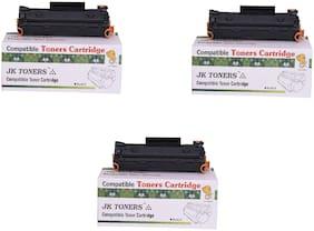 JK TONERS CF233A / 233a / 233 Toner Cartridge Compatible with hp LaserJet Ultra MFP M134fn, 134a, 106a Single Color Toner (unit 3).