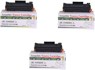 JK TONERS CF233A / 233a / 233 Toner Cartridge Compatible with hp LaserJet Ultra MFP M134fn, 134a, 106a Single Color Toner (unit 3).