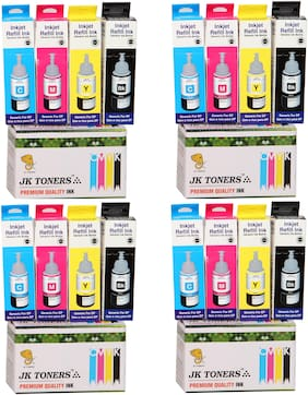 JK TONERS Epsnblk Multi Ink Cartridges