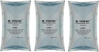 Jk Toners Ir 400,3300,3570,4570,6570,5000,6000 Copier,Super Dark Single Color Ink Toner  (Black) (Pack of 3)