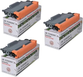 JK TONERS TN 2260/2280 Cartridge Compatible with Brther HL-2215/2235 / 2220/2225 / 2230/2240 / 2242D / 2250/2260 / 2270DW / 2275DW / MFC7360 / 7362N / 7460DN (Pack of 3)