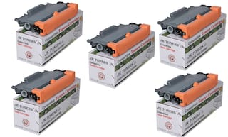 JK TONERS TN 2260/2280 Cartridge Compatible with Brther HL-2215/2235 / 2220/2225 / 2230/2240 / 2242D / 2250/2260 / 2270DW / 2275DW / MFC7360 / 7362N / 7460DN (Pack of 5)