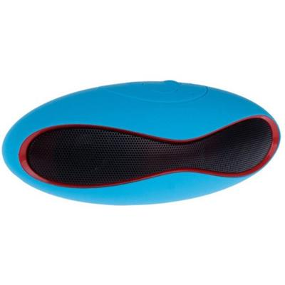 Mini Rugby Portable Bluetooth Mobile/Tablet Speaker (Blue 2.1 Channel)