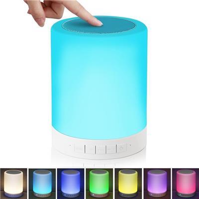 Junaldo Lamp 3.0 Bluetooth Speaker (Multi Color)