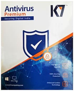 K7 Anti Virus ( 1 PC , 1 yr ) Security Softwares