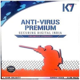 K7 Anti virus ( 10 pc , 1 year )