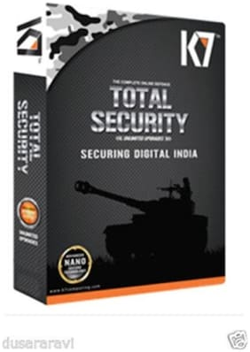 K7 Total Security (1 User/1 Year)