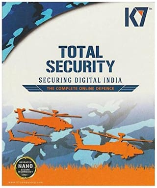 K7 Total security ( 5 pc , 1 year )