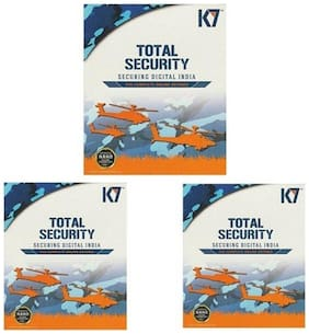K7 Total Security 3 Pc 1 Year (3 Instalation cds & 3 Serialkeys Every key 1 Year Valid)