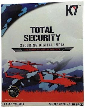 K7 Total Security 2 pc 1 Year 2016 (Slim Pack)