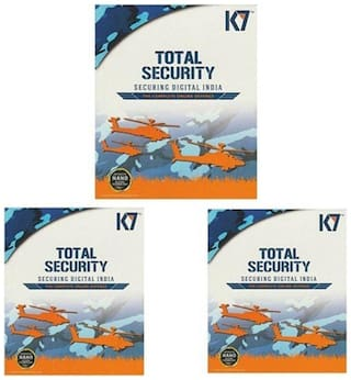 K7 Total Security ( 3 PC , 1 yr )