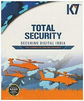 K7 Total security ( 1 pc , 1 year )