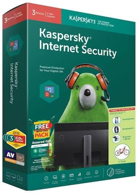 KASPERSKY 3CD - 3KEY version 18