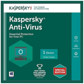 Kaspersky Anti virus ( 2 pc , 1 year )