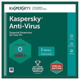 Kaspersky Anti Virus ( 2 PC , 1 yr )