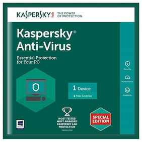 Kaspersky Anti Virus ( 1 PC , 1 yr )