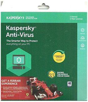 Kaspersky Antivirus Software 2017 (1 User/1 Year)