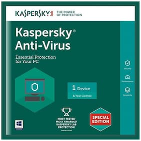 Kaspersky Anti virus ( 1 pc , 1 year )