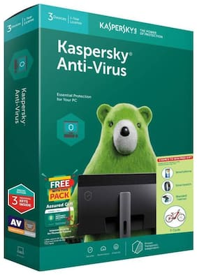 Kaspersky Anti Virus ( 3 Pc , 1 Year )