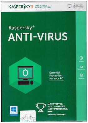 Kaspersky Antivirus 2016 1 User 1 Year - Pack of 5