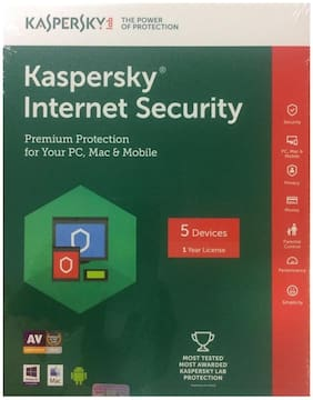 Kaspersky Internet Security Latest Version ( 5 / 1 ) CD