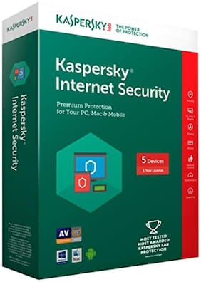 Kaspersky Internet Security ( 5 PC , 1 yr )