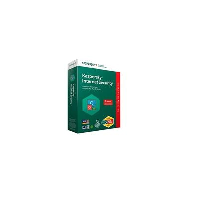 Kaspersky Internet Security 2017 3Pc 1Year(3CDs 3Serial Keys(In A Single Box) Every Key 1 Year Valid Free 3 Plastic CD Covers For Safe The CDs From Scratch)