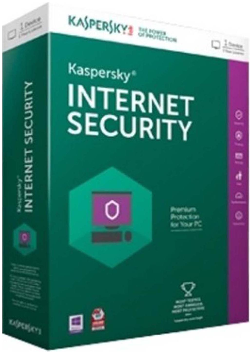 Kaspersky Internet Security 2016  1 PC/3 Year
