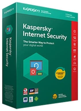 Kaspersky Internet Security Software 2018 3pc 1year(3cds,3 Serial Numbers Everykeys 365 Days Validity)