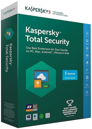 Kaspersky Total Security 1 Device/ 1 Year ( Latest Version)