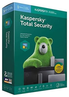 Kaspersky Total Security 1 Pc 3 Years