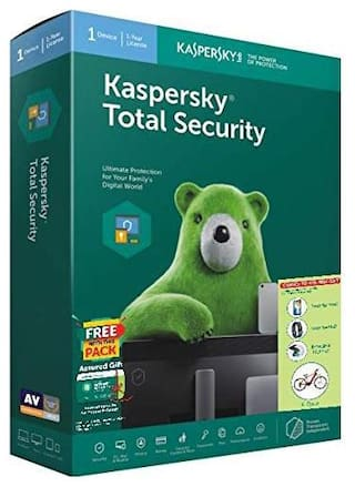 Kaspersky Total security ( 1 pc , 1 year )
