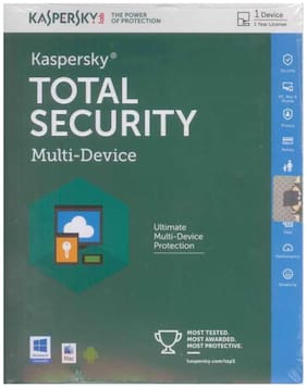 Kaspersky Total Security Latest Version ( 1 / 1 ) CD