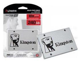 "Kingston SSDNow UV400 240GB SATA 3 2.5"" Solid State Drive (SUV400S37/240G)"