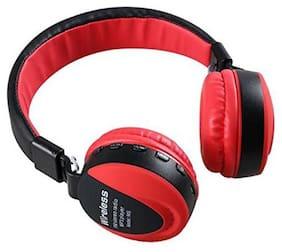 Kirru Ms-771 Over-Ear Bluetooth Headset ( Red )