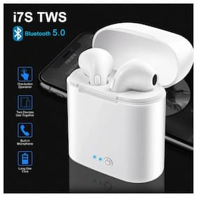 KIX2 os i7s TWS mini True Wireless Bluetooth Headset ( White )