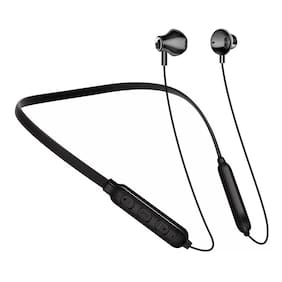 KONARRK BT1 Neckband In-Ear Bluetooth Headset ( Black )