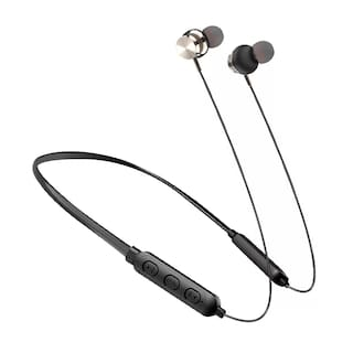 KONARRK BT2 Neckband In-Ear Bluetooth Headset ( Black )