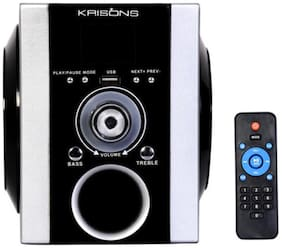 Krisons FNS003 Portable Speaker ( Black & Silver )