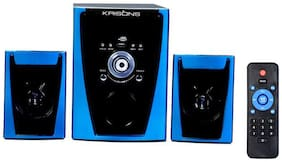 Krisons 2.1 Bluetooth Speaker ( Black & Blue )